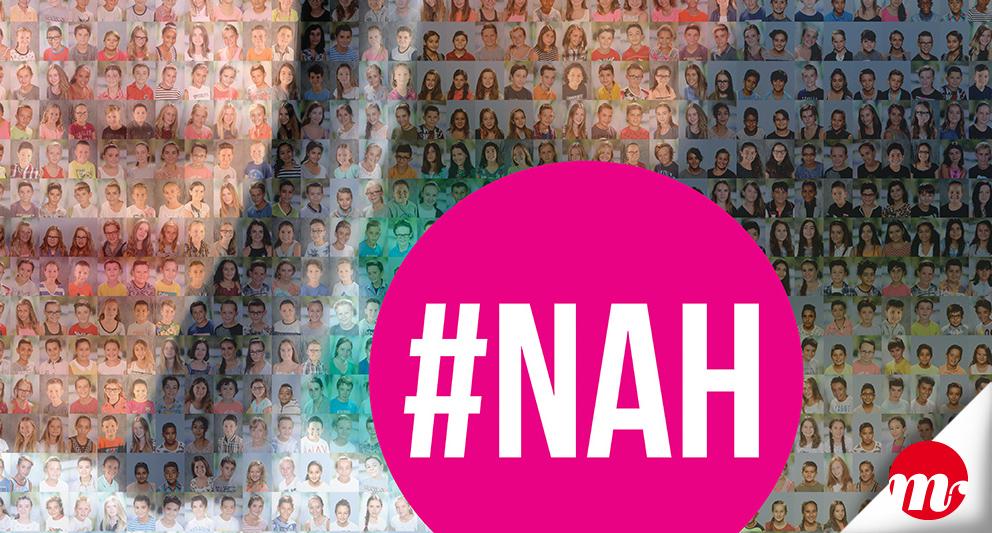 """Infographie pour l'affiche de la campagne """"non au harcèlement"""""""