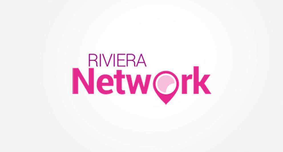 Charte graphique et logotype pour le Riviera Network