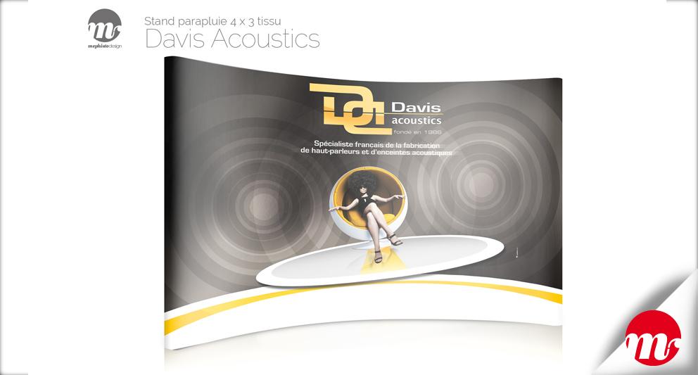 Branding et web design pour Davis Acoustics