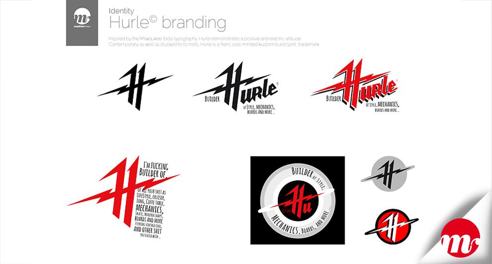 Branding et direction artistique totale pour une marque émergente dans l'univers custom