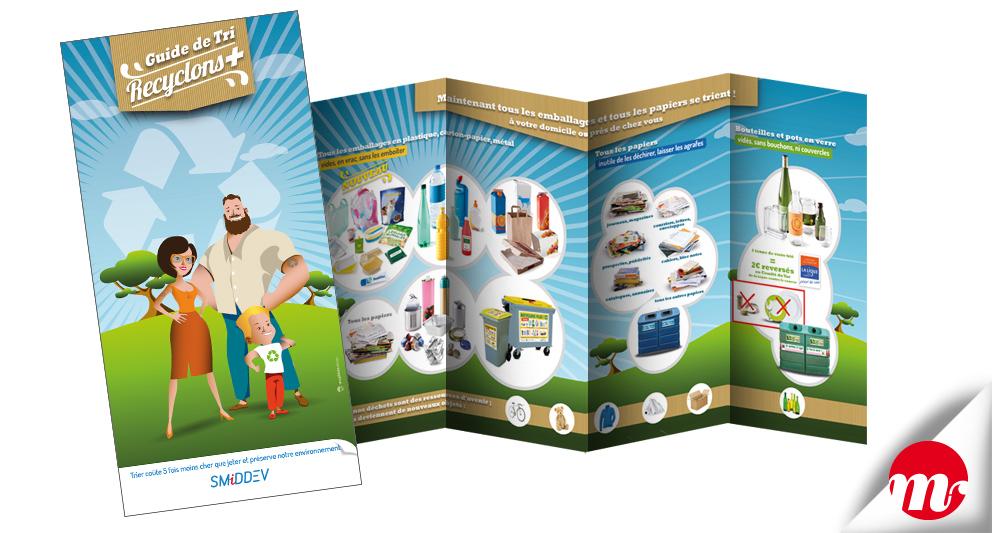 identité visuelle et flyers pour le SMIDDEV