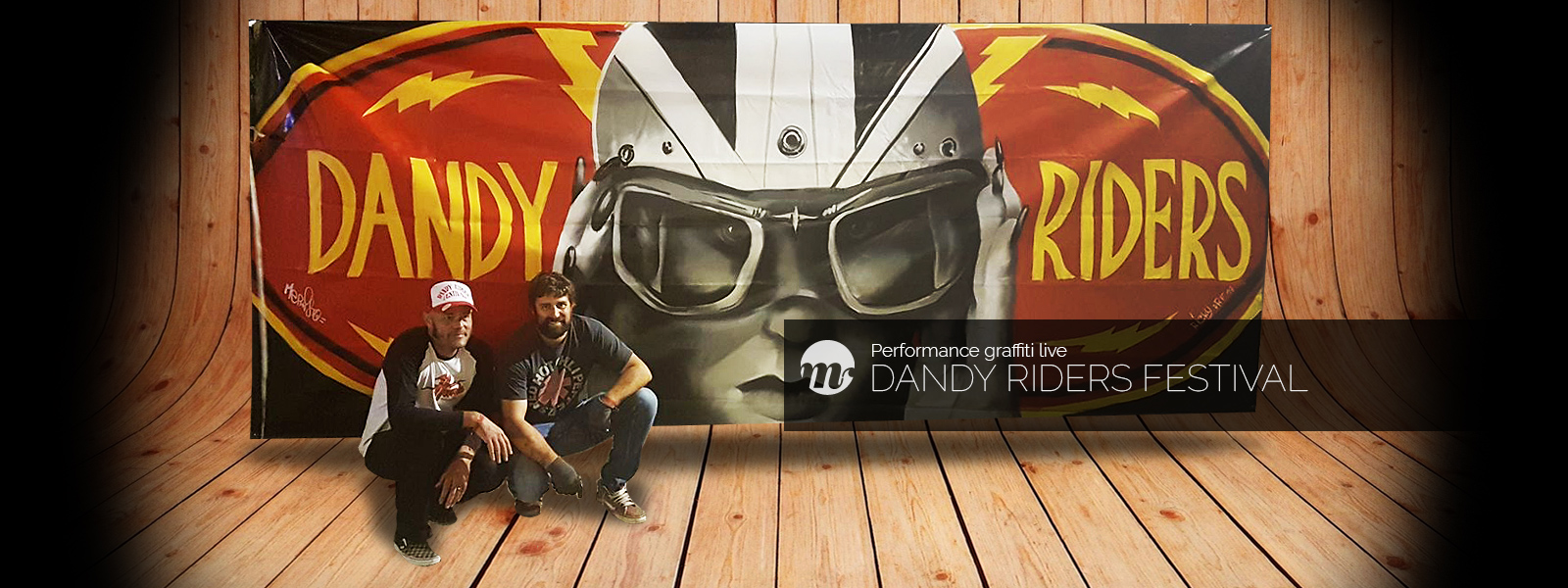 Dandy Riders Festival 2017 - graffiti en live