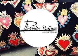 Site web, branding et logo pour Pierrette Valium, coussinologue