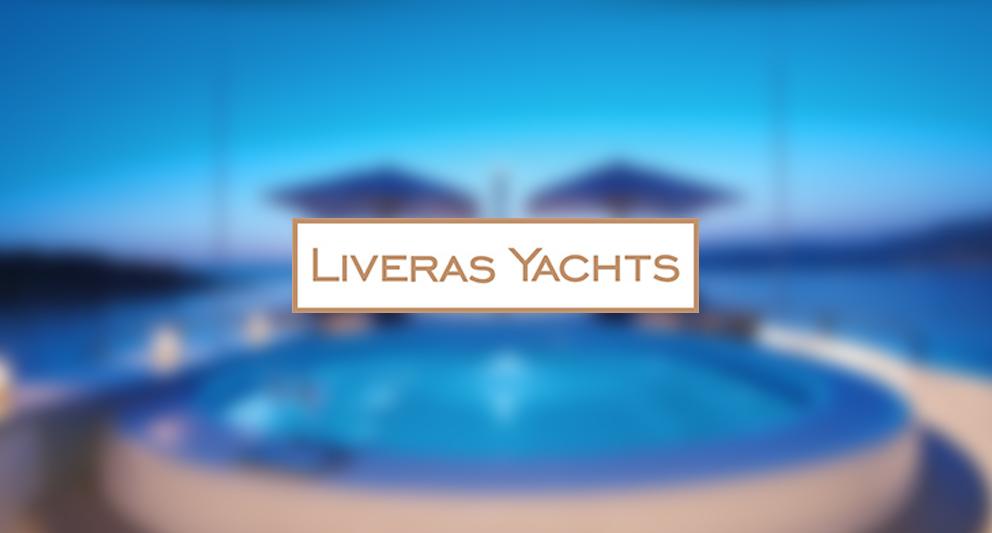 liveras yachts web design