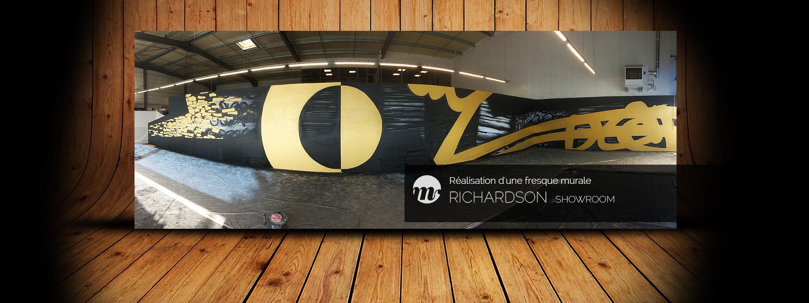 Richardson graffiti showroom