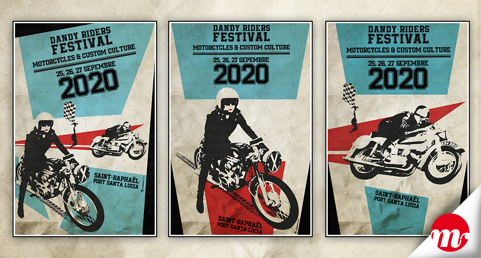 Dandy Riders Festival 2020, communication globale