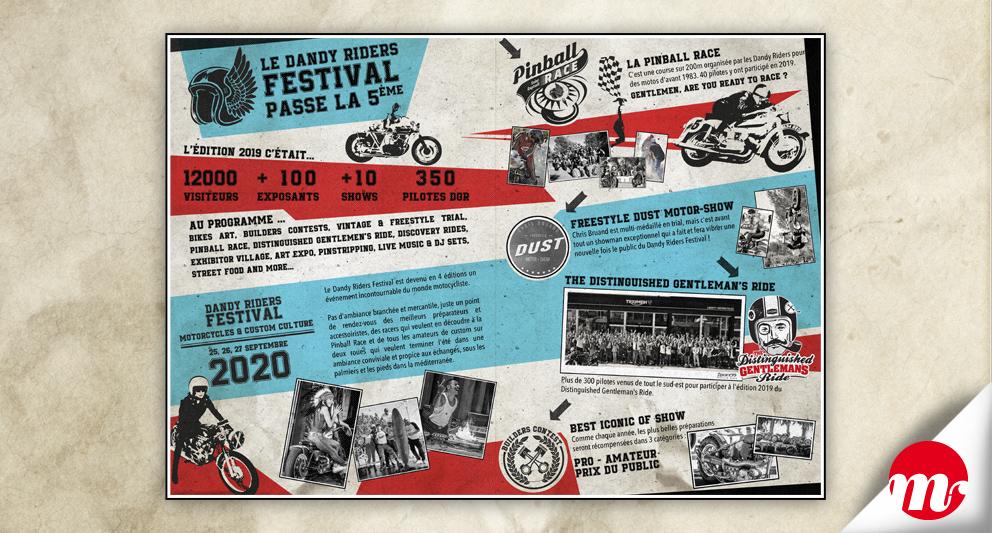 Dandy Riders Festival 2020, communiqué de presse