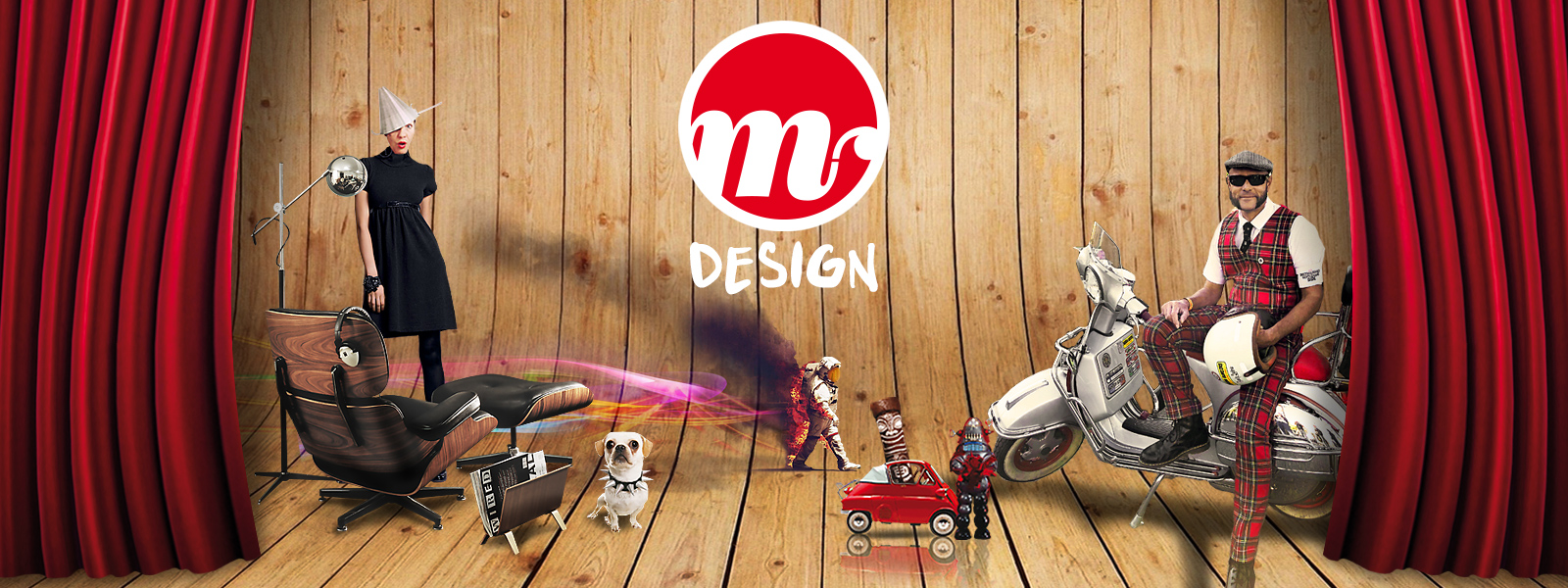 Mephisto Design, communication par l'image