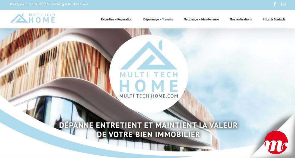 Multi Tech Home Site Web
